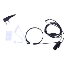 Baofeng Accessories Air Acoustic Tube 2 Pin PPT Earpiece for Radio Walkie Talkie Headset Throat Mic Microphone for 888S uv-5r