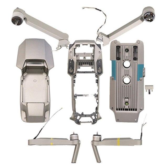 Original DJI Mavic Pro Platinum Repair Parts Right Left Rear Arm Top Bottom Housing Shell