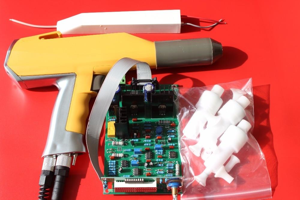 Whole Set Manual Electrostatic Powder Coating Spray Gun