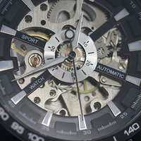 New Hot Popular Men S Stainless Mechanical Watch Steel Hand Winding Skeleton Automatic And Sport Wrist