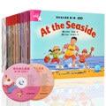 35 книг/набор ранней образовательной английской книги для чтения с рисунками для малышей  детей  книга для рассказов  объем 2 с CD