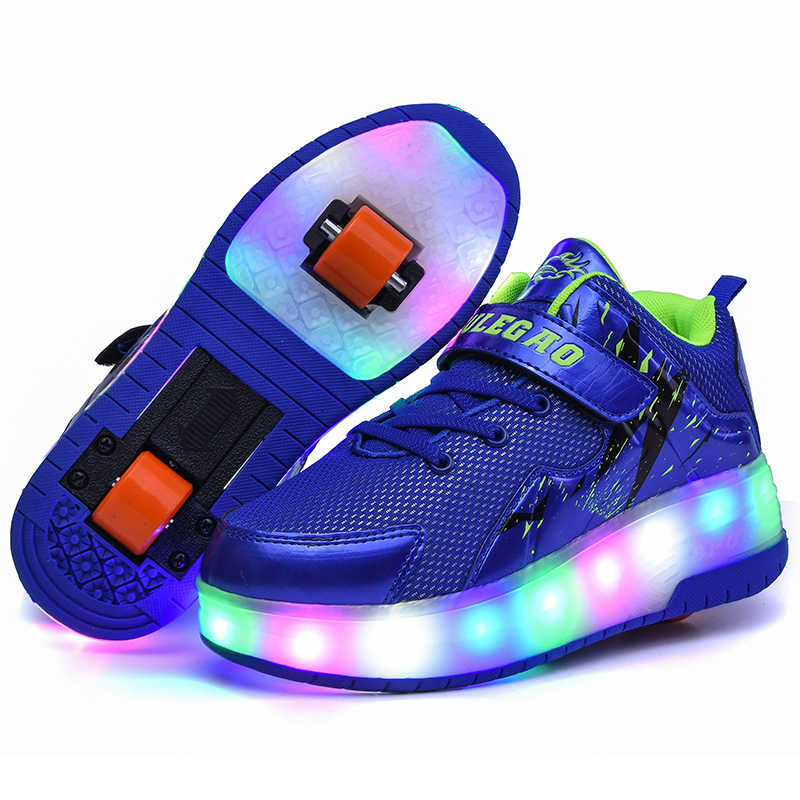 purple USB Charging Fashion Girls Boys
