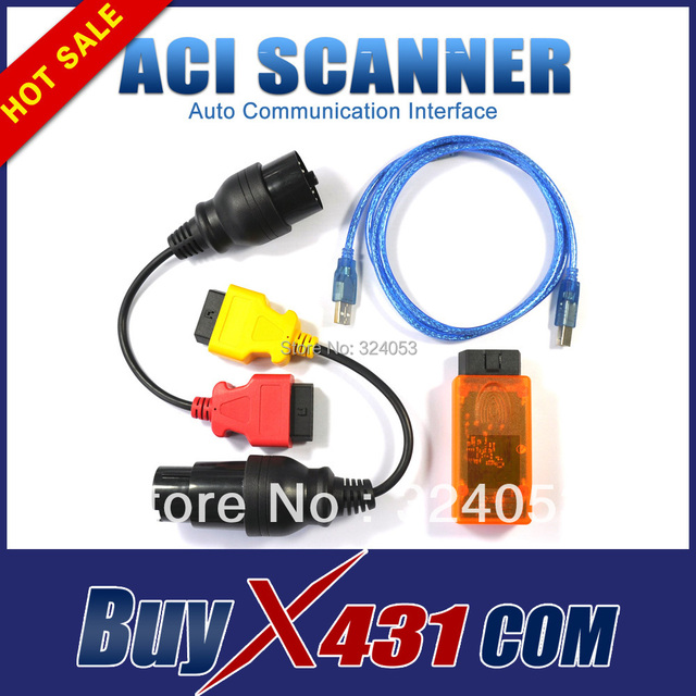 Top Quality Auto Enginuity Professional Communication Interface ACI Scanner OBD2 OBDii Universal Diagnostic Scan Tool free ems