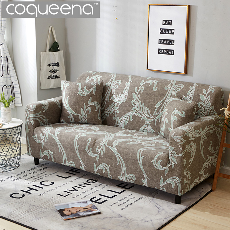 Modern European Style Universal Stretch Sofa Covers Wrap Sectional Corner Couch Slipcovers Armchair Furniture Protector In Cover From Home
