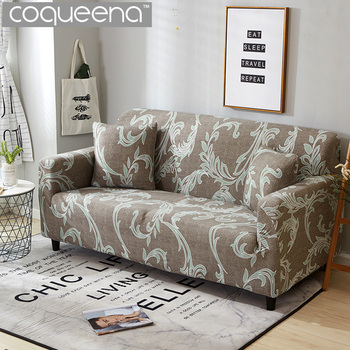 Modern European Style Universal Stretch Sofa Covers Tight Wrap Sectional  Corner Couch Slipcovers Armchair Furniture Protector