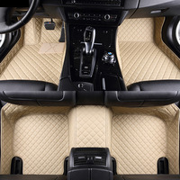 Car floor mats for Skoda Superb Yeti Fabia Rapid spaceback 5D heavy duty car styling carpet floor liner