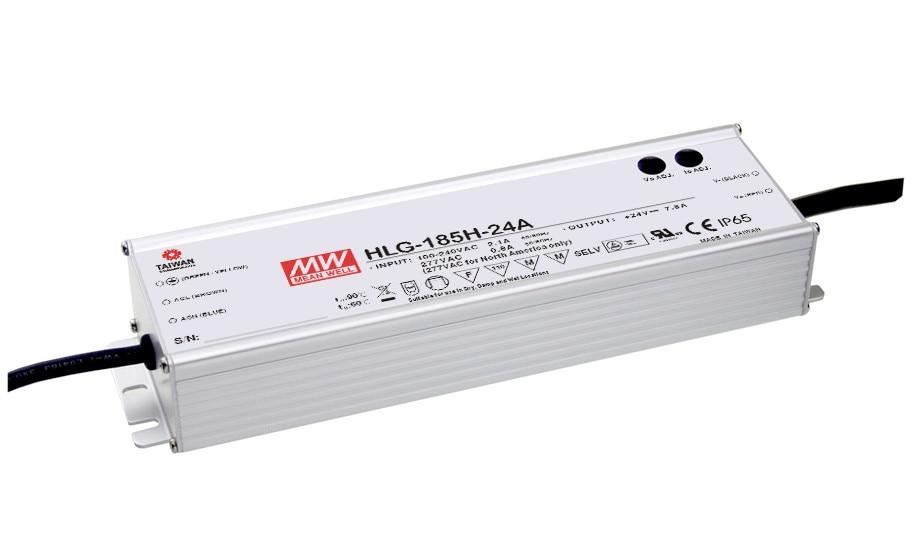 цена на [PowerNex] MEAN WELL original HLG-185H-20D 20V 9.3A meanwell HLG-185H 20V 186W Single Output LED Driver Power Supply D type