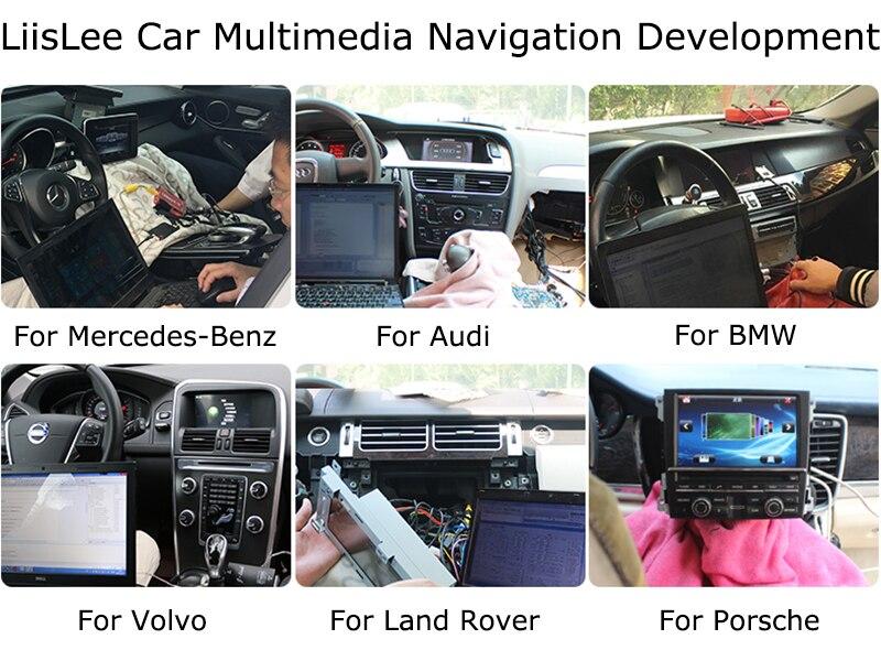 Cheap LiisLee Car Multimedia GPS Hi-Fi Audio Radio Stereo For TOYOTA Land Cruiser Prado J150 LC150 2018 Original Style Navigation NAVI 9