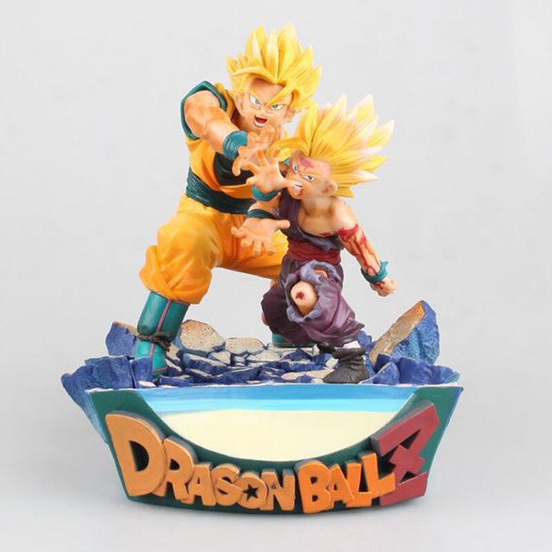 Lower Price with Japan Anime Dragon Ball Z Dbz Dxf Super Saiyan Burdock Wu Geeta Battle Fighting Ver Model Collection Figure Toys Toys & Hobbies