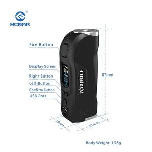Image 3 - Hcigar Warwolf Vape Mod Uitgang 1 80 W Watt En Temp Modus Vaporizer 18650 Batterij Mini Doos Elektronische Sigaretten mod