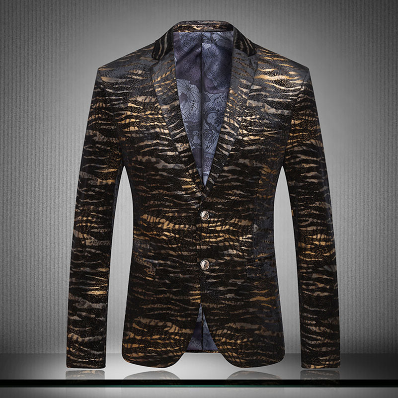 popular mens leopard print blazer buy cheap mens leopard print blazer lots from china mens. Black Bedroom Furniture Sets. Home Design Ideas