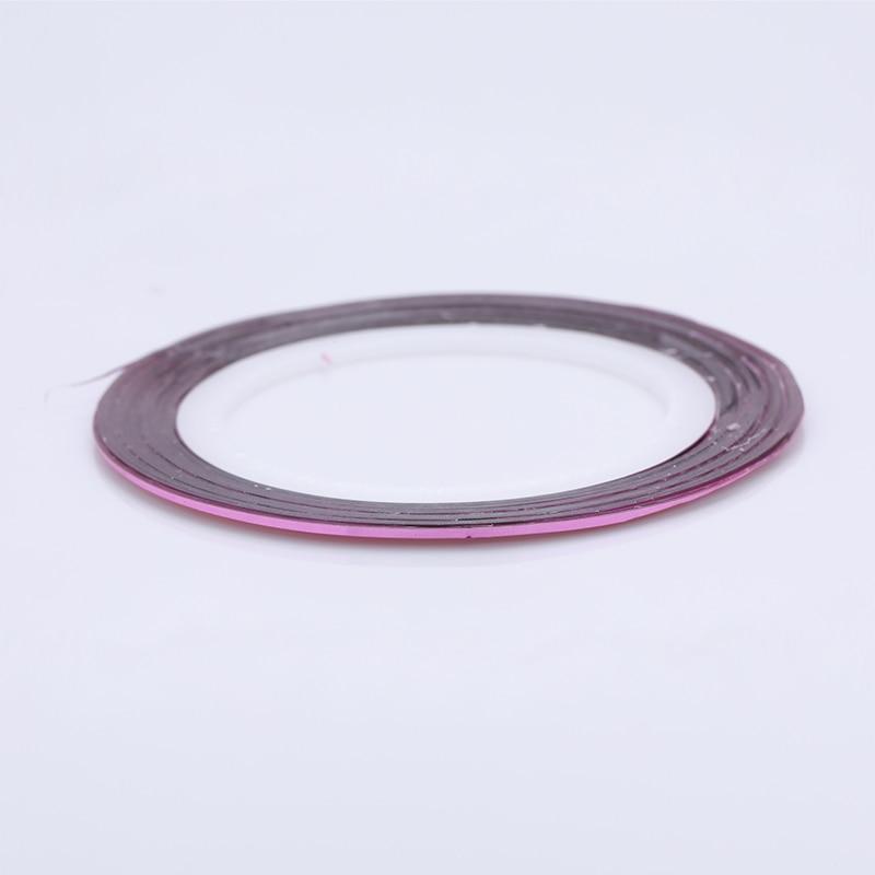 2 мм матовый блеск для ногтей, Чередование ленты линия разноцветные, для ногтей инструмент для укладки волос Стикеры наклейка DIY украшения для ногтей - Цвет: 08