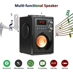 Image 2 - TOPROAD 20W Big Power Bluetooth Speaker Portable Stereo Bass Wireless Party Speakers with Remote Control FM Radio Mic TF AUX USB