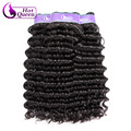 Malaysian Deep Wave Curly Virgin Hair Queen Hair Products Virgin Maylasian Wet And Wavy Braiding Hair Natural Color 3pcs/lot