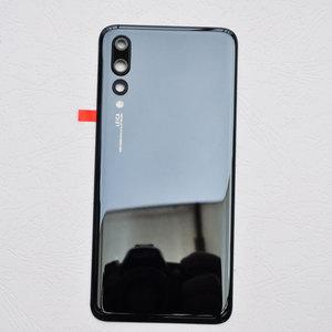 Image 3 - ZUCZUG חדש זכוכית אחורי שיכון עבור Huawei P20 פרו סוללה כיסוי חזרה מקרה P20 פרו Задняя крышка Tylna okładka