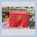 4 m por 4 m Inflável Tenda Cubo Vermelho Boa Qualidade Barraca Do Partido PVC Blower Incluído