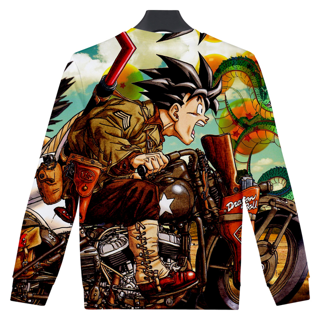 Dragon Ball Z Goku Sudadera 3D