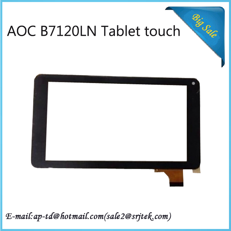 7 Inch Original New AOC B7120LN Touch Screen Touch Panel Digitizer Glass Tablet PC+Free Shipping