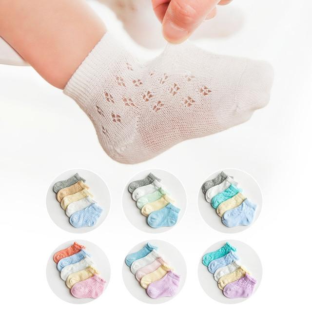 07bd2a7e5dc372 Dziecko kostki skarpetki dla dzieci lato krótkie skarpety cienkie  Breachable bawełniane skarpetki dla chłopców i dziewcząt