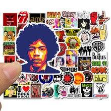 50 قطعة ملصقات الهيب هوب روك & لفة الفرقة الكرتون شخصية الكتابة على الجدران ملصقا اللعب ل سكيت كمبيوتر محمول دراجة الشارات F5