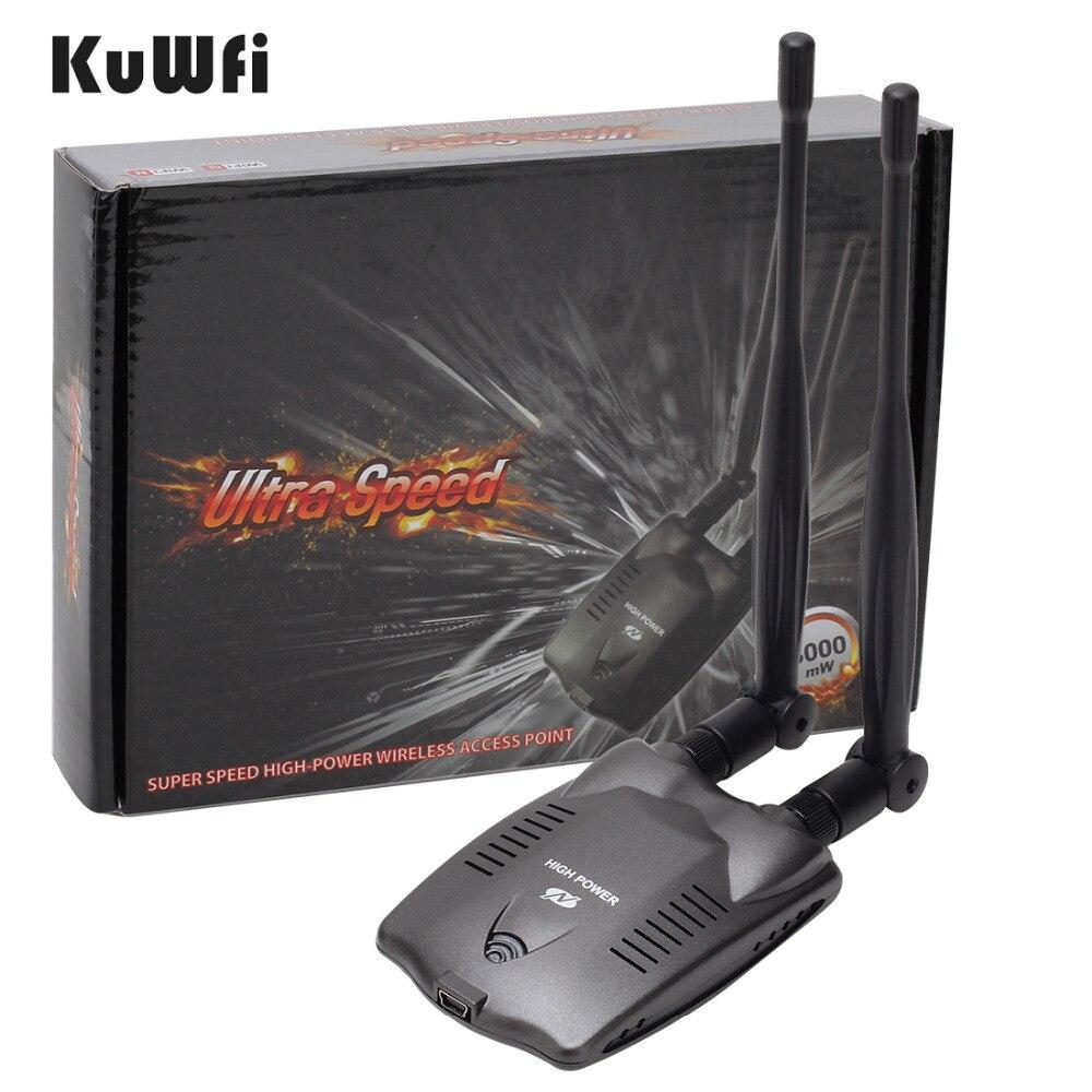 3000mW High Power N9100 Wireless USB Wifi Adapter For Ralink 3070 Chipset  ZZ