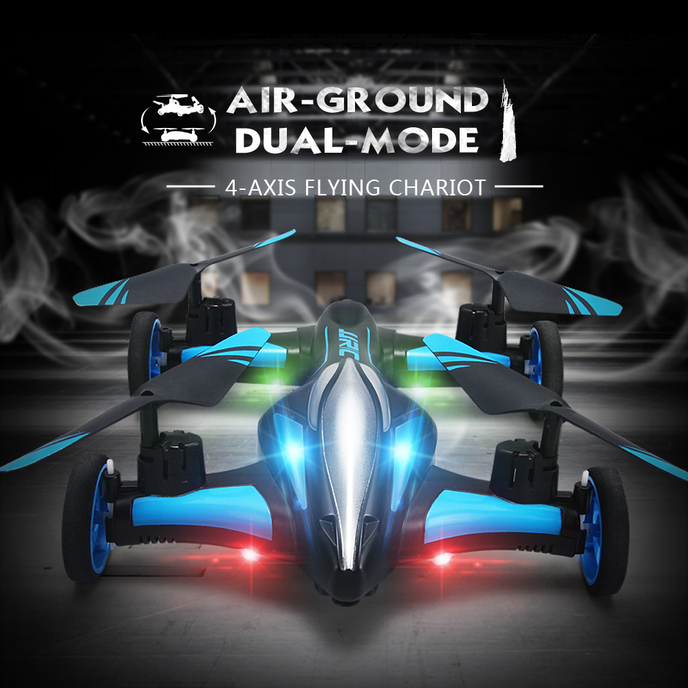 JJRC H23W воздух-земля летающий автомобиль 0.3MP Wi-Fi Камера 2,4 г 4CH 6 оси 3D переворачивает один ключ возврата RC drone Quadcopter игрушка RTF