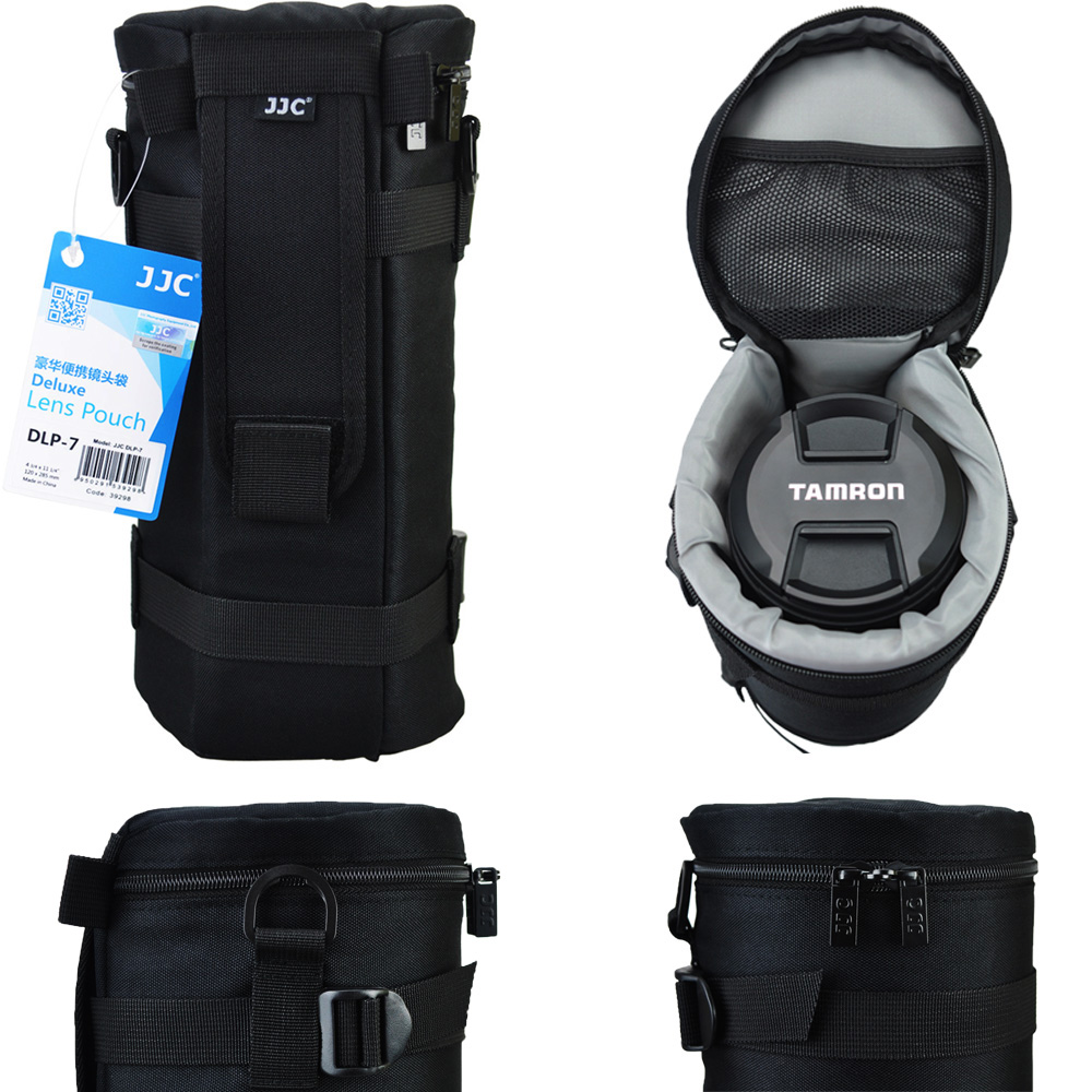 JJC Deluxe Lens Pouch Bag For Tamron SP 150-600mm For Sigma 150-600mm 150-500mm For J BL Xtreme Portable Bluetooth Speaker jjc jn24 protective water resistent pouch bag for zoom lens 100mm 240mm
