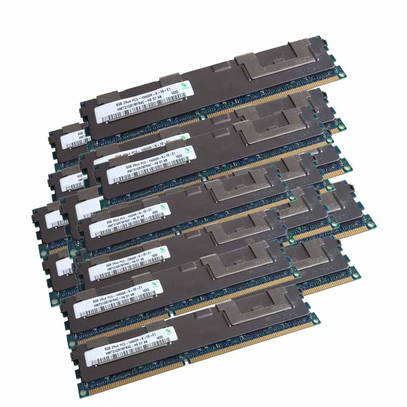 50x8GB PC3-10600R DDR3 1333mhz ECC Memory REG Registered 240-pin RAM 2RX4 server memory jzl memoria pc3 10600 ddr3 1333mhz pc3 10600 ddr 3 1333 mhz 8gb lc9 240 pin desktop pc computer dimm memory ram for amd cpu