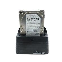 """Blueendless уникальный дизайн 2.5 """"3.5"""" SATA HDD 6 ТБ жесткий диск держатель DC зарядное устройство USB 3.0 Dock Док-станция Бесплатная доставка"""