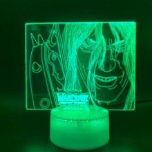 3D Illusion Lamp Game World of Warcraft War3 Frozen Throne Nightlight Lich King Arthas Menethil Kids Room Decor Led Night Light стоимость