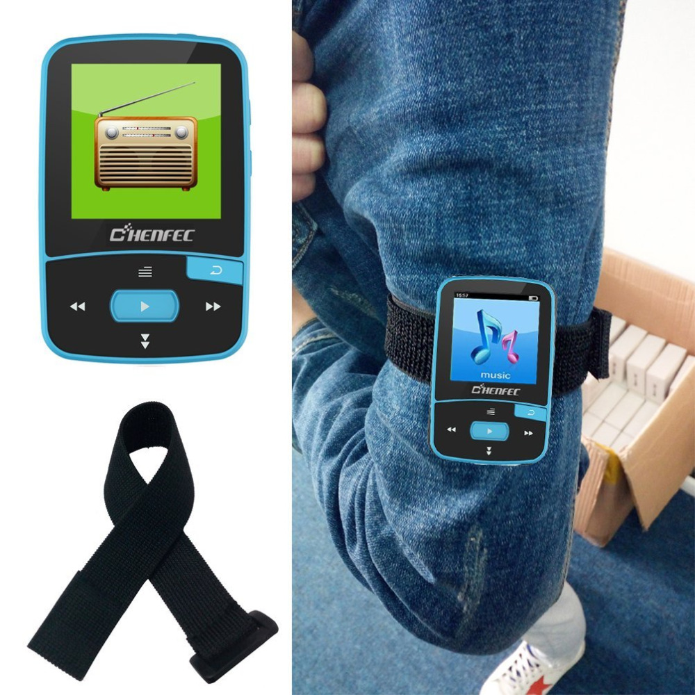 Izvorni CHENFEC C50 Mini Sport Clip Bluetooth mp3 player glazbeni - Prijenosni audio i video - Foto 6
