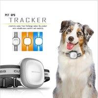 Pet Cat Dog Smart GPS Locator Device Tracker Waterproof Shockproof Tracking Locator Gray Orange Blue Tracking with Free Platform