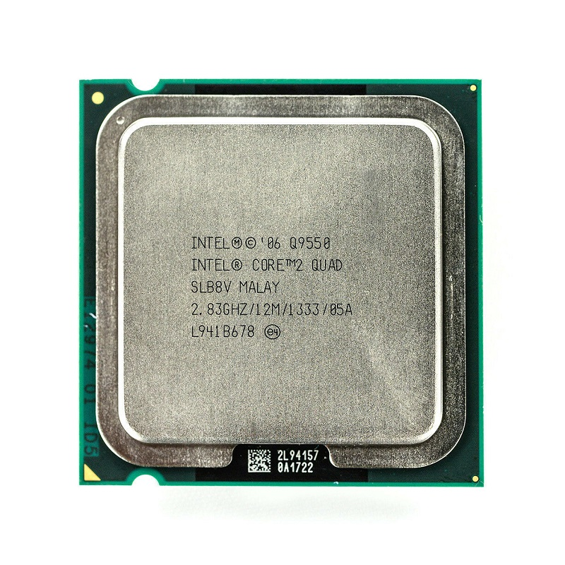 Intel Core 2 Quad Q9550 Processor SLAWQ SLB8V 2.83GHz 12MB 1333MHz Socket 775 cpu 100% Working
