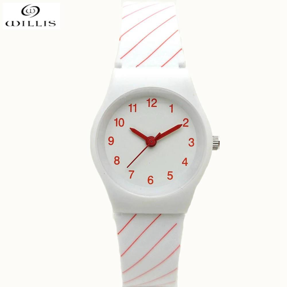WILLIS Luxury Brand Women watches Design Ladies Watch Women silicone strap Bracelet Quartz waterproof watch Clock Women Relogio