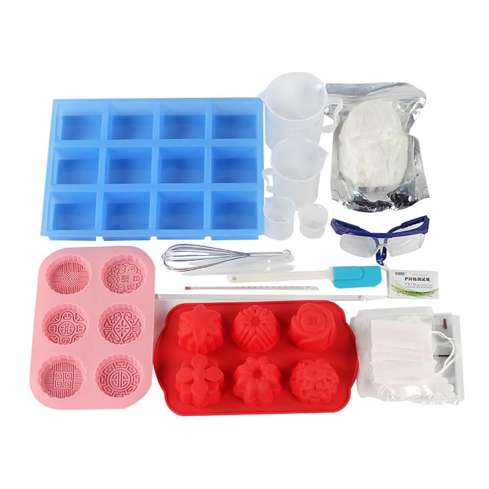 Ev ve Bahçe'ten Sabun Yapma Setleri'de 21 ADET Sabun Yapımı Seti Profesyonel Soğuk İşlem Sabun Yapımı Aracı'da  Grup 1