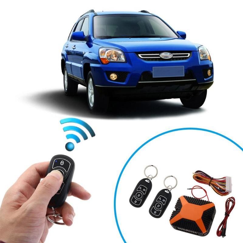 VODOOL Universal Car Alarma Auto Remote Control Central Lock Car Alarm Security System Kit Door Lock Car Keyless Entry System