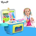 High Quality Doctor Toys Kids Pretend Play Toys Doctor Set Medicine Box Role Play Educational Baby Toy for Children Gifts