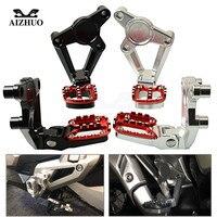 For HONDA X ADV 2017 2018 XADV750 X ADV 750 Motorcycle Folding Rear Foot Pegs Footrest Passenger Rear foot Set