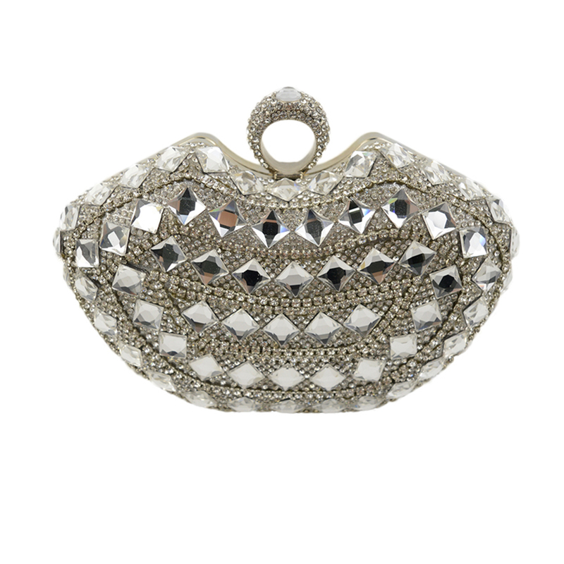 3 Color Rhinestones Evening Bags Diamonds Clutches Evening Bag Case Purse Wedding Day Clutch Evening Bags For Party Bag стоимость