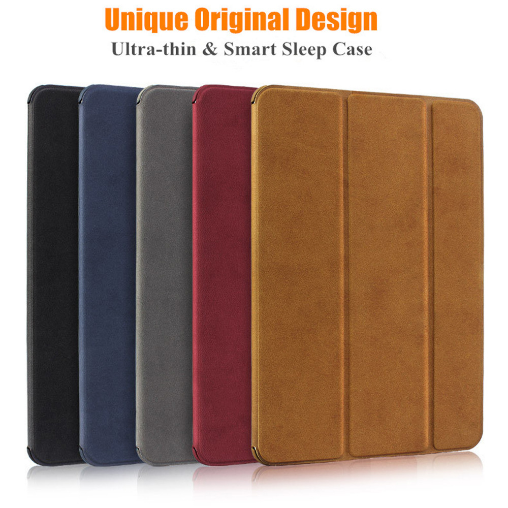 BGR Case For Xiaomi Mipad 1 Smart Wake-up Sleep Stand Ultra-thin Folding PU Leather Flip Cover Pouch 7.9 Funda Coque