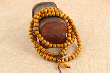 108 *0.8cm Wood Prayer Beads Tibetan Buddhist Mala Buddha Bracelet Rosary Wooden Bangle Jewelry  Christmas gift  woman man gift