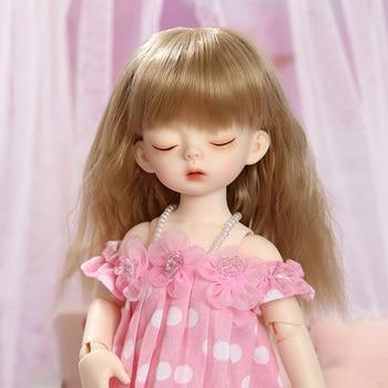 OUENEIFS Soo Sleeping Head Miadoll BJD SD Doll 1/6 YoSD Body Model Children Toys High Quality Resin Figures Cute Gift Luodoll