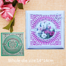 Hollow  Metal Cutting Dies for craft Scrapbooking Stamps DIY Card making New 2019 14*14cm