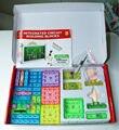 NOVO 120 projetos snap circuito integrado bloco de construção kit eletrônico Rádio fm kits de Ciência experimentos crianças descobrir brinquedos
