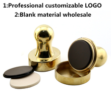 Brass round photosensitive seal material wholesale with free edge sealing photosensitive butterfly pad Professional customizable ly p20 digital photosensitive seal machine psm stamp maker free tax to ru