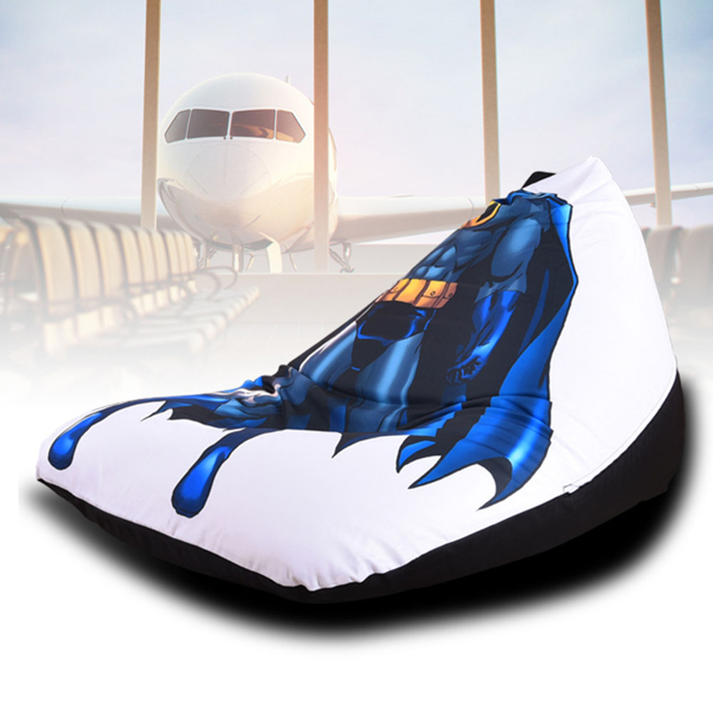 Terrific Us 33 0 40 Off Levmoon Beanbag Sofa Chair Superman Seat Zac Comfort Bean Bag Bed Cover Without Filler Cotton Indoor Beanbag Lounge Chair In Living Alphanode Cool Chair Designs And Ideas Alphanodeonline