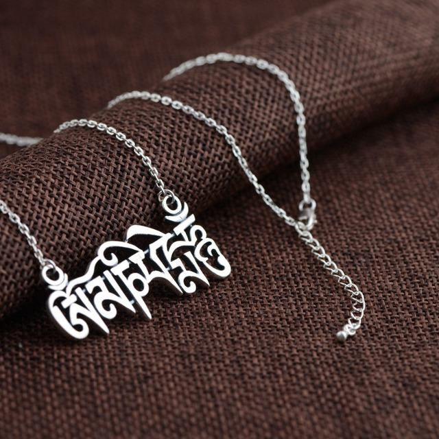 BALMORA 100% Real 925 Sterling Silver Jewelry Classic Retro Pendant Necklaces for Women Men Accessories Bijoux JLWC80713