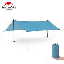 Naturehike 15D Coated Silicon Ultralight Tarp Awning Waterproof Outdoor Canopy Camping Sun Shelter Beach Tent NH19T001-M