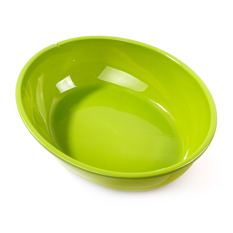 Oval Cat Random Solid Plastic Litter Box Pet Dog Large Tray Cleaning Tool Doggy Basin And Toilet Cat Loo With Shovel Hot 2 Size #4