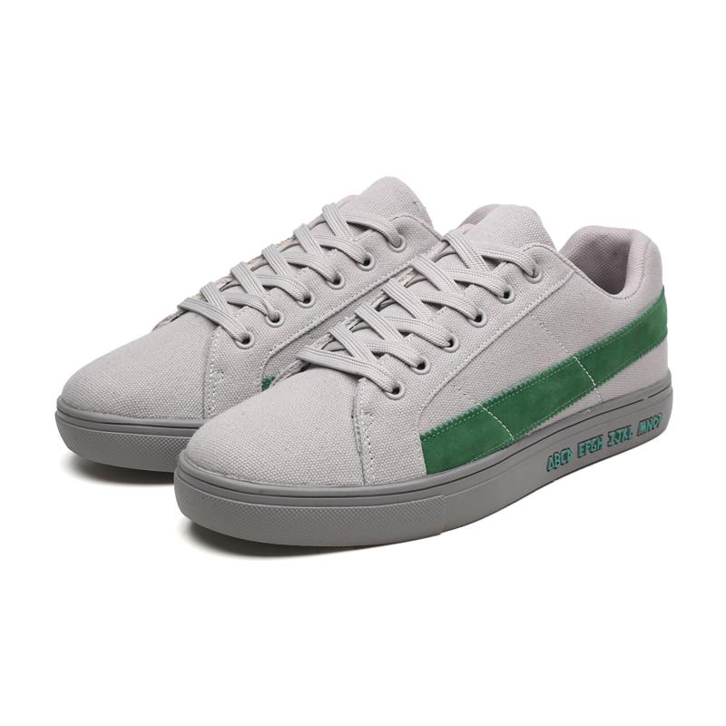 Vīriešu čības kurpes vīriešiem dizaineri gadījuma vulkanizēti - Vīriešu apavi